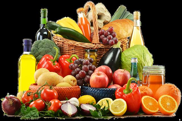Früchte, Gemüse & Pilze